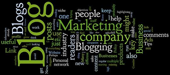 Att använda marknadsföring i sin blogg